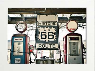 Historic Route 66 by Art Now Collection