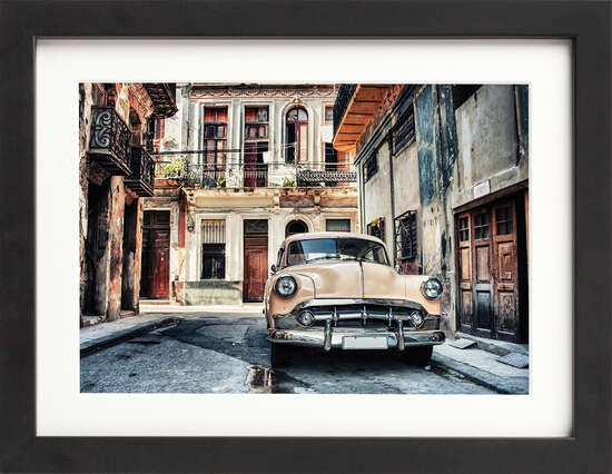 Classic Cuban Coupe by Art Now Collection