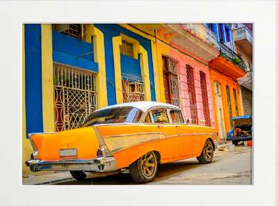 Classic Cuban Cadillac by Art Now Collection
