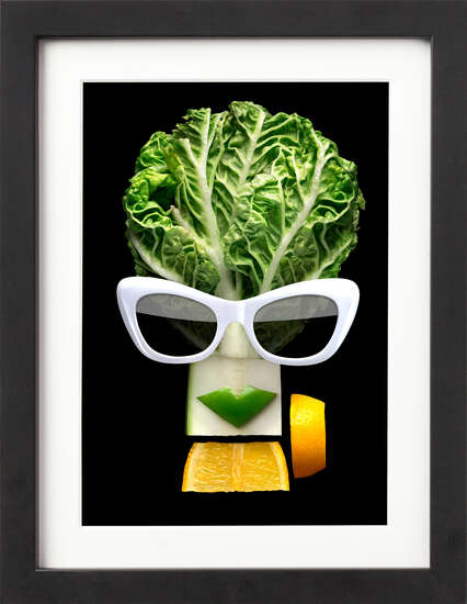 Tasty Art Lettuce by Art Now Collection