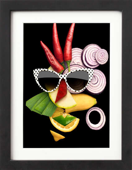 Tasty Art Peppers by Art Now Collection