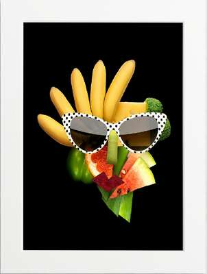 Tasty Art Banana by Art Now Collection