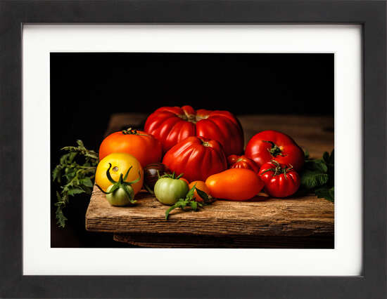 Tomatoes Still Life by Art Now Collection