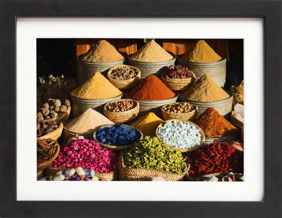 Marrakech Market Spices by Art Now Collection