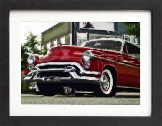 American Classic Car by Art Now Collection