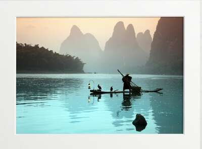 Chinese Fisherman by Art Now Collection