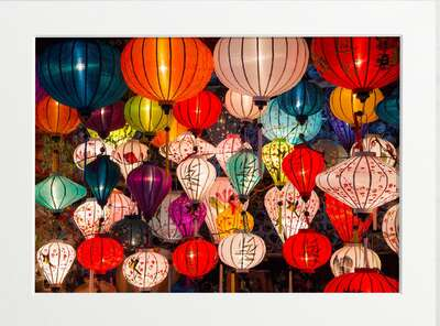 Paper Lanterns by Art Now Collection