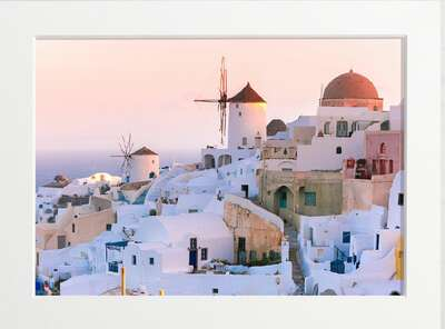 Old Town of Oia by Art Now Collection