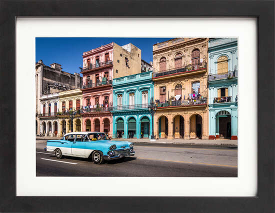 Downtown Havana by Art Now Collection