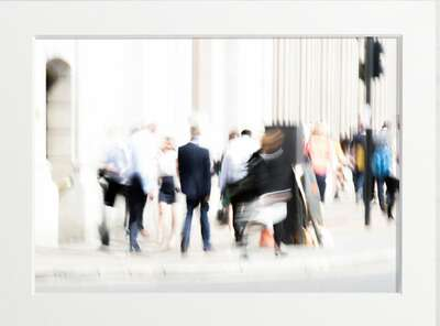 figurative art:  Busy Blur by Art Now Collection