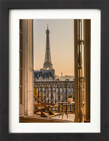 Parisian Balcony by Art Now Collection