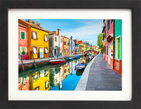 Burano Island, Venice by Art Now Collection