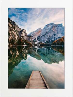 Lago di Braies by Art Now Collection