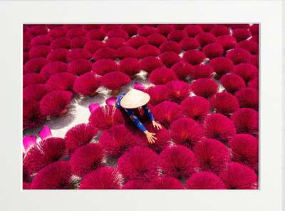 figurative art:  Vietnam Incense by Art Now Collection