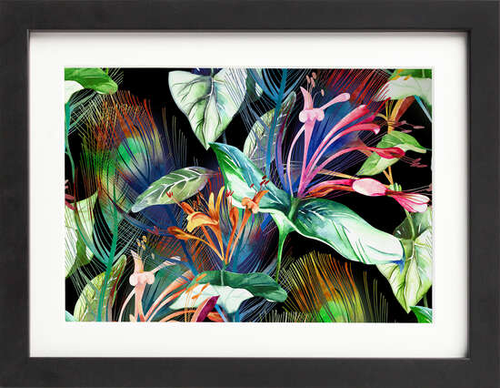 Watercolor Wildflowers by Art Now Collection