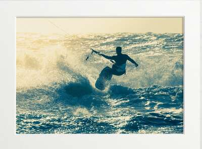 figurative art:  Kitesurfer by Art Now Collection