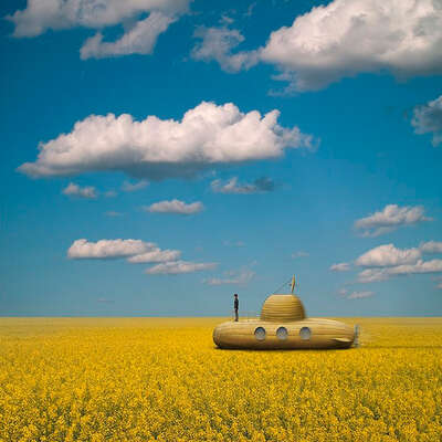 Yellow Submarine by Ceslovas Cesnakevicius