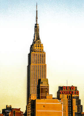 Empire State New Yorker de Bernard Grilly