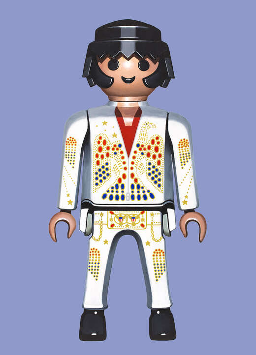 Elvis by Pierre-adrien Sollier