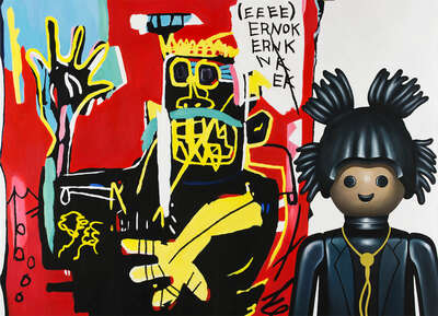 Basquiat by Pierre-adrien Sollier