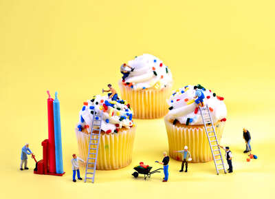 Cupcake Construction von Cathy Scola
