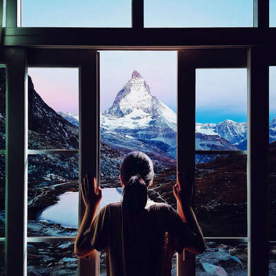 winter art: Matterhorn by Nicole Regina Hunziker