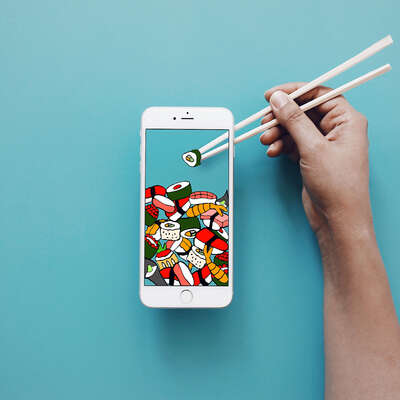 The Most Mobile Sushi yet by Anshuman Ghosh