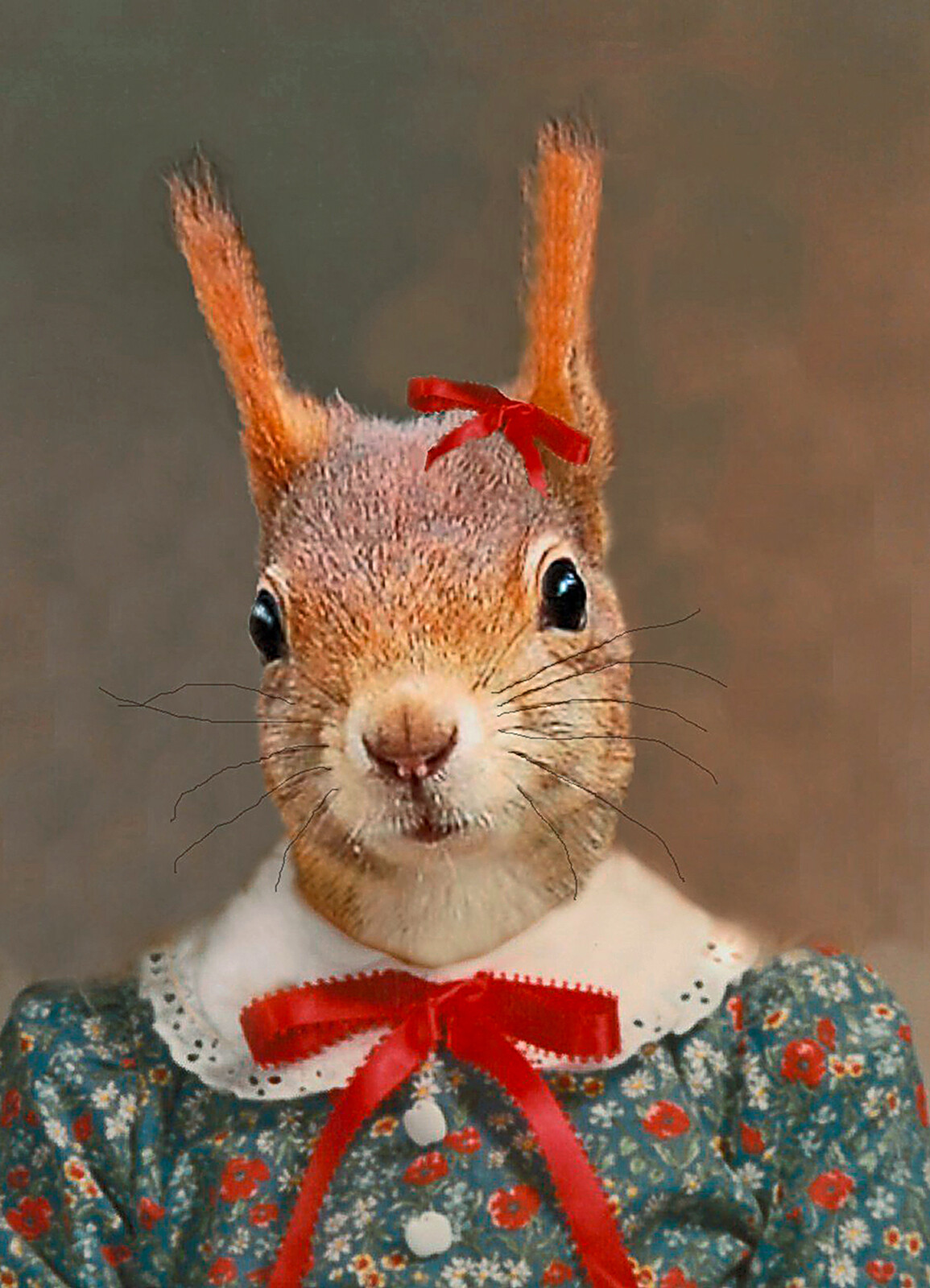 Stephanie the Squirrel by Angela Rossi