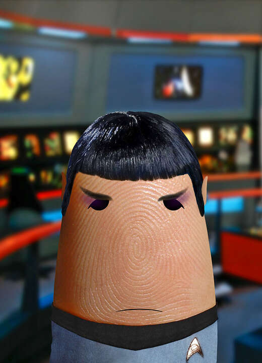 Mr. Spock by Dito Von Tease