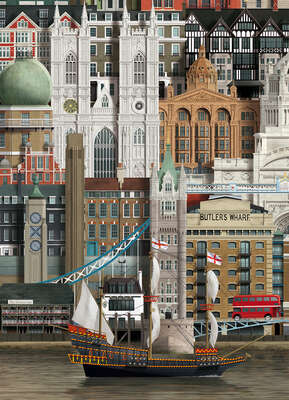 London III by Martin Schwartz