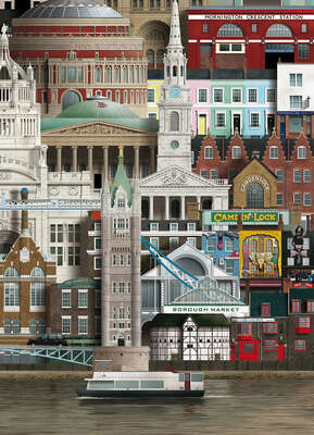 London IV de Martin Schwartz