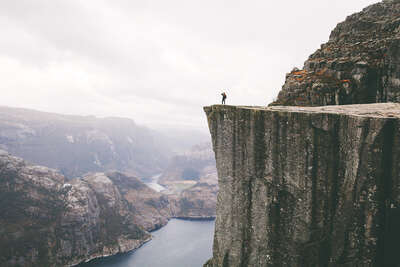 Photographic landscape artworks: Norway I by Alex Strohl