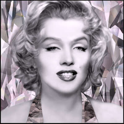 Marilyn Monroe Bilder: A Girl´s Best Friend  von Anton Sparx