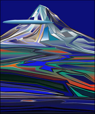 abstract photography:  The Summit by Anton Sparx