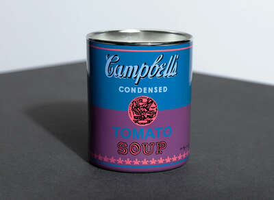 CAMPBELL BLUE/PURPLE - Perfumed Candle de Andy Warhol