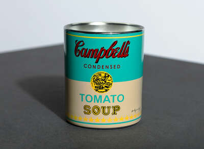 CAMPBELL TURQUOISE/YELLOW - Perfumed Candle von Andy Warhol