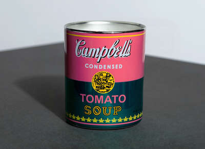 CAMPBELL PINK/GREEN - Perfumed Candle by Andy Warhol