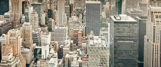 New York Pictures: Cityscape II by Bence Bakonyi
