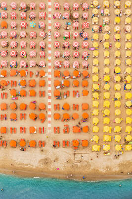 curated beach art: Adria VII by Bernhard Lang