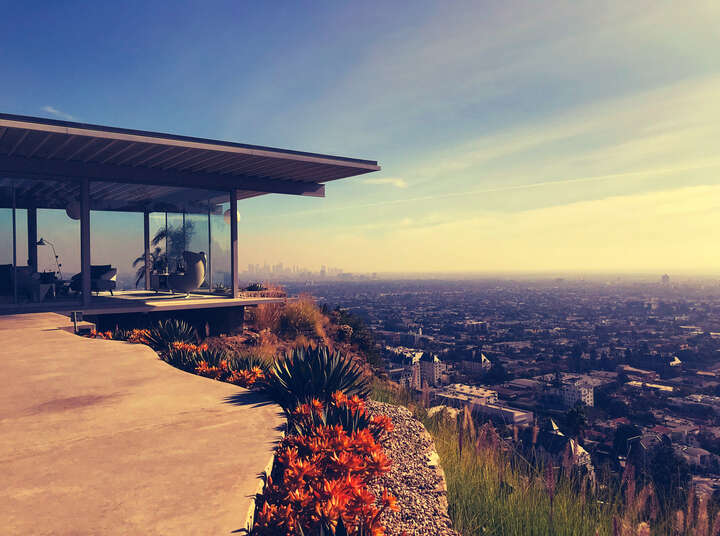Los Angeles in January, 2:02pm by Ralph Hasenohr