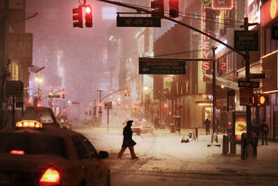 Broadway Snow de Christophe Jacrot