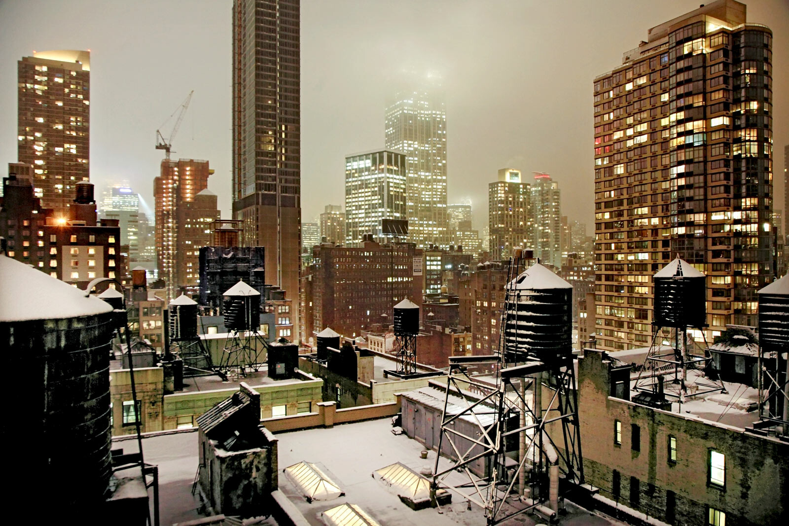 Gold night by Christophe Jacrot
