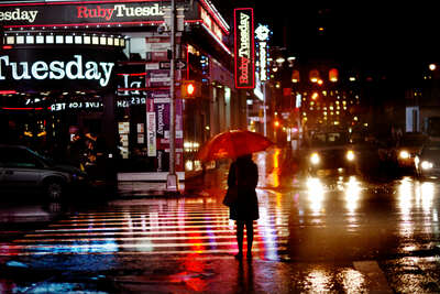 Fashion Wall Art:  Ruby by Christophe Jacrot