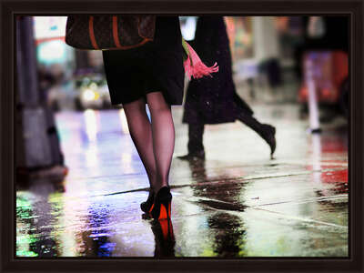 Fashion Wall Art:  Red Berry by Christophe Jacrot