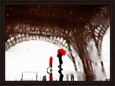 Paris Pluie by Christophe Jacrot