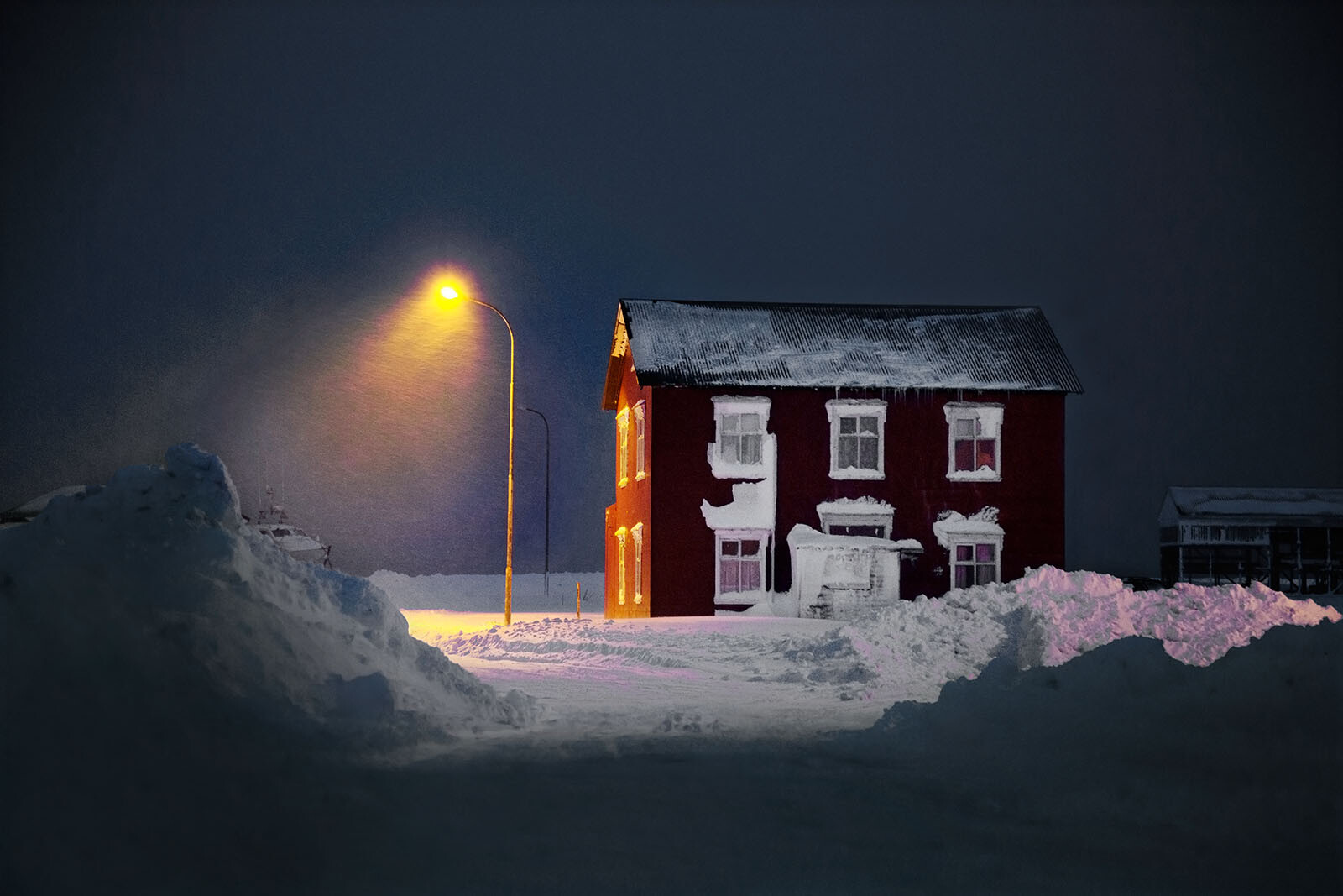 The Old Red House von Christophe Jacrot