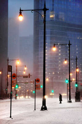 City Wall Art  Taxi Stand by Christophe Jacrot