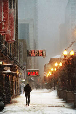 figurative art:  Chicago by Christophe Jacrot