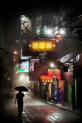 Night Lights von Christophe Jacrot