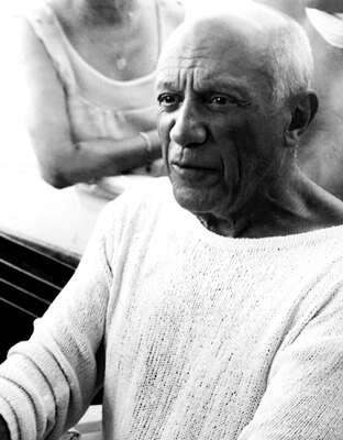 Celebrity Portrait Photography:  Pablo Picasso by Classic Collection I